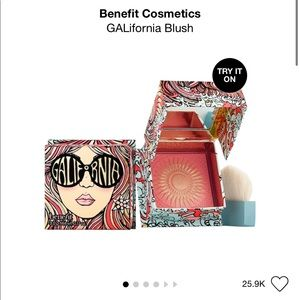 Benefit blush Galifornia